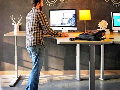standing office desks standing desks los angeles office furniture crest