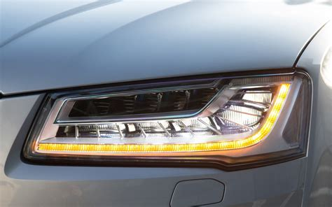 Running Head Lamps by 2015 Audi A8 Matrix Led Headlights Picture Gallery