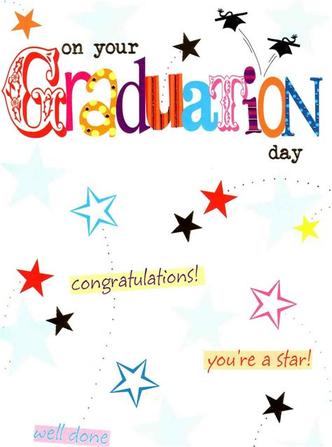 card on day congratulations on your graduation day greeting card well