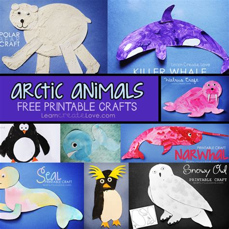 arctic crafts for arctic animal crafts up