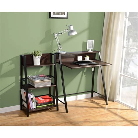 desk at walmart mainstays corner desk black walmart