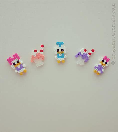 perler bead disney disney perler mobile origami tutorials