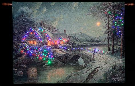 kinkade tapestry kinkade tapestry lights 28 images sale on kinkade