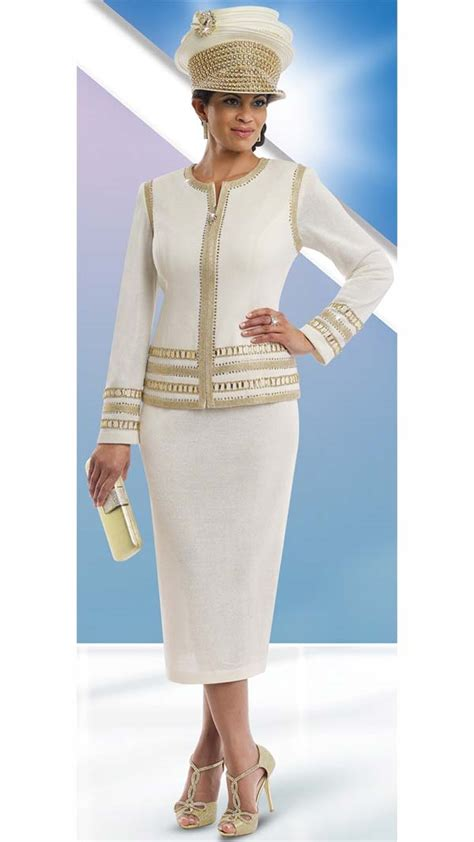 donna vinci knits womens knit church suit by donna vinci 13194