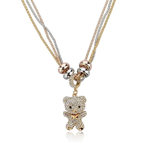 rhinestone pendants jewelry new style vintage rhinestone necklaces pendants gold