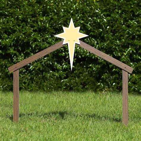 outdoor creche outdoor nativity stable reanimators