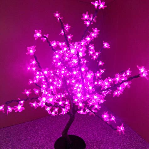 pink tree lights where to buy a pink tree lights