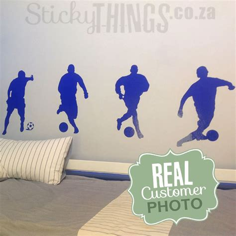 soccer wall stickers soccer wall decal football wall sticker south africa