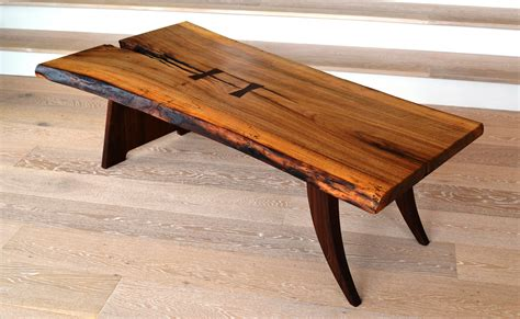 live edge coffee table home by novogratz live edge coffee table greenwood bay