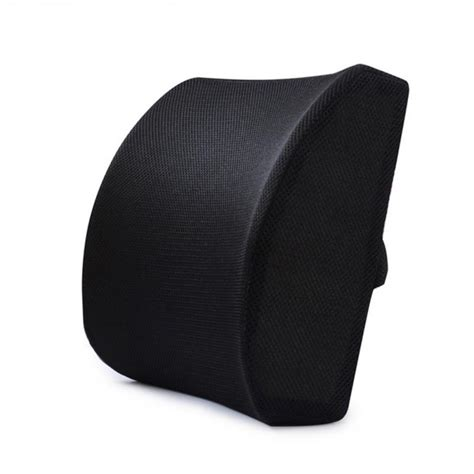 back cusion memory foam lumbar cushion lower back support pillow