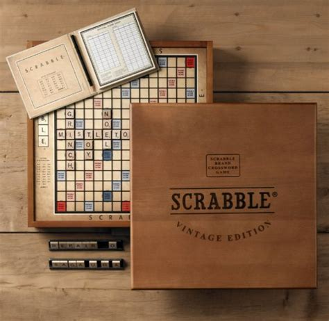 Limited Edition Scrabble Pretty Packaging