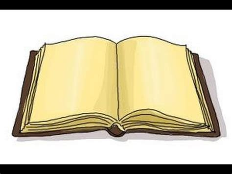 pictures of an open book how to draw an open book