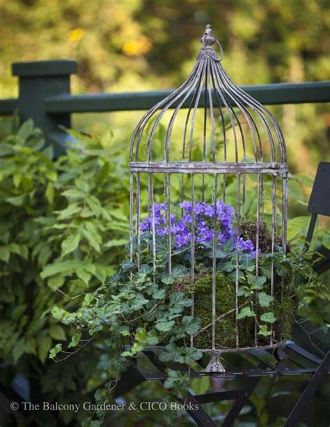 how to create a flower garden birdcage with flowers how to create a birdcage flower