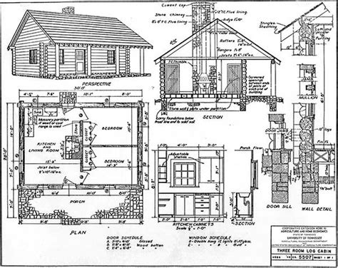 cabin plan 30 diy cabin log home plans with detailed step by step