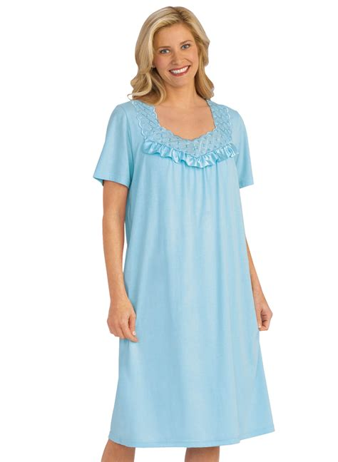 knit nightgowns cotton knit nightgown carolwrightgifts