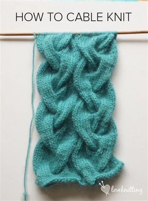 knitting cables tutorial 1000 ideas about knit stitches on knitting