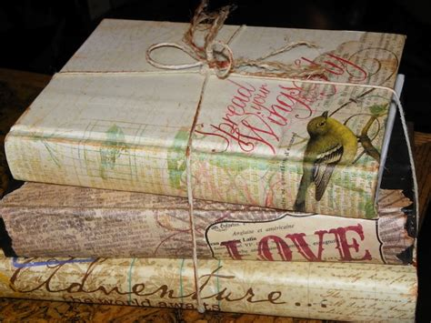 decoupage books a new look for an book the uses for books