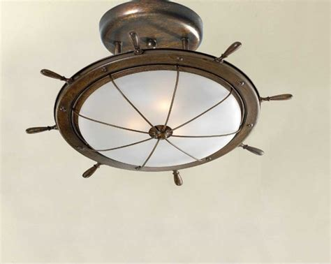nautical themed lighting fixture nautical light fixtures ceiling lighting with matte bowl