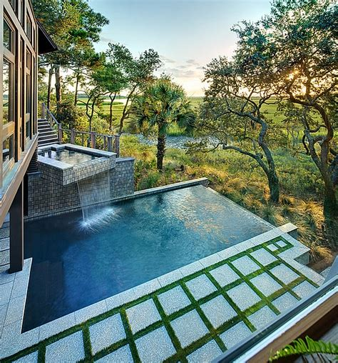New Kitchen Chinese charming amp spectacular pool waterfalls to fashion every