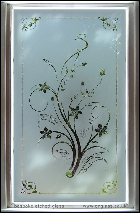 glass design ideas bespoke etched toughened glass glazed window on