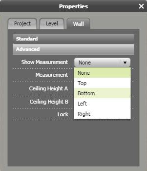 roomsketcher show measurements display outside wall measurements on 2d floor plans web