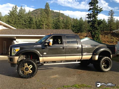 Ford Dually Wheels by Fuel Dually Wheels Blown Dually Front D254 Wheels
