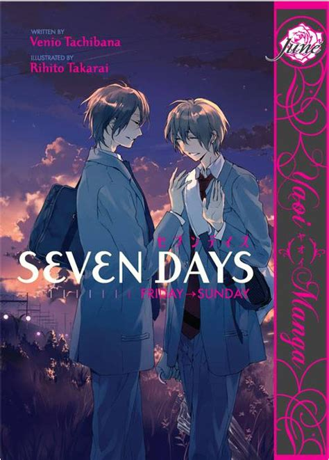 seven days crunchyroll quot seven days quot boy s gets 2 part