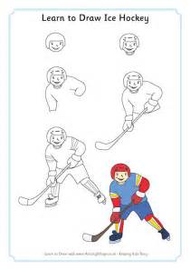 learning to draw learn to draw hockey