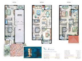 3 story townhouse floor plans target