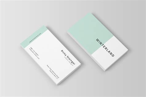 simple card for simple business card template inspiration cardfaves