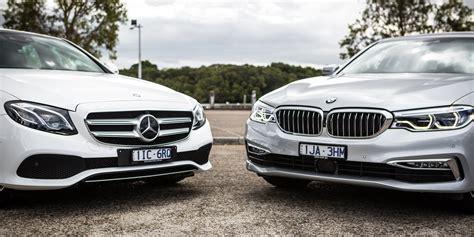 Mercedes Vs Mercedes by 2017 Bmw 530i Vs Mercedes E300 Sedan Comparison Photos