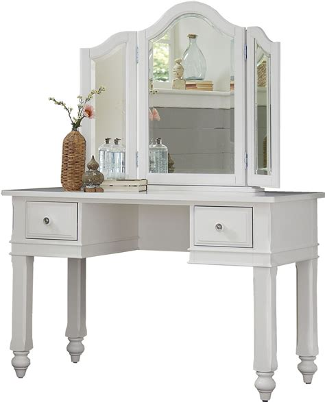desk with mirror lake house white writing desk with vanity mirror from ne