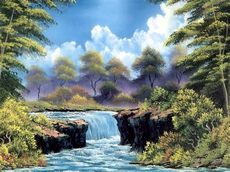 bob ross paintings hd images bob ross painting hd wallpaper and