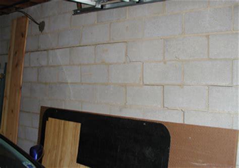 repair basement wall bowend and cracked basement wall repair