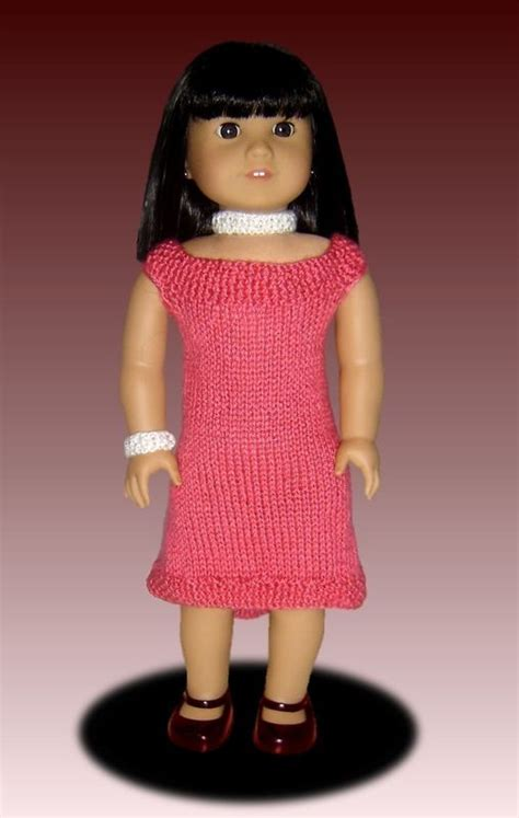 18 inch doll clothes knitting patterns free fits american knitting pattern doll clothes 18