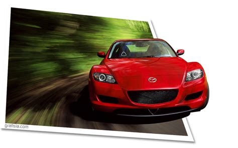 Car Wallpaper Photoshop by Creating Out Of Bounds Sport Car Wallpaper Grafisia