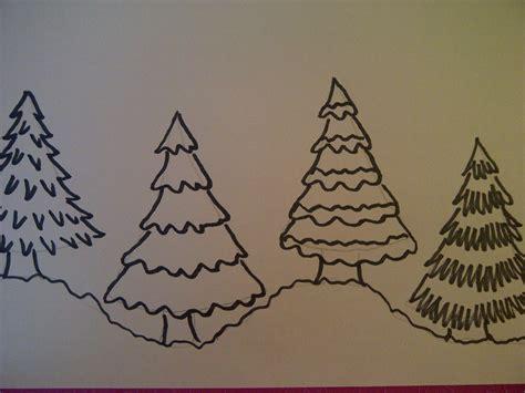 weihnachtsbaum zeichnen 4 m 246 glichkeiten einen weihnachtsbaum zu zeichnen