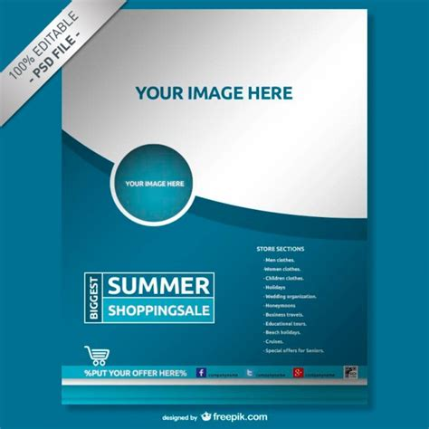 flyer template free flyer vectors photos and psd files free