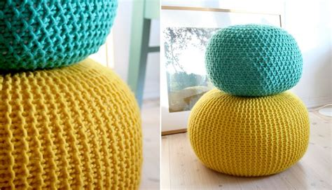 pouf pattern knit pattern for knitted pouf do that