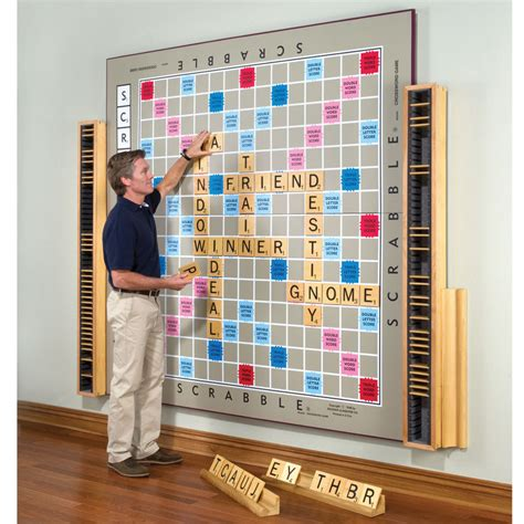 re in scrabble is this the world s largest scrabble