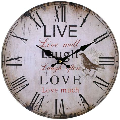 shabby chic clocks shabby chic wall clock beautiful shabby chic