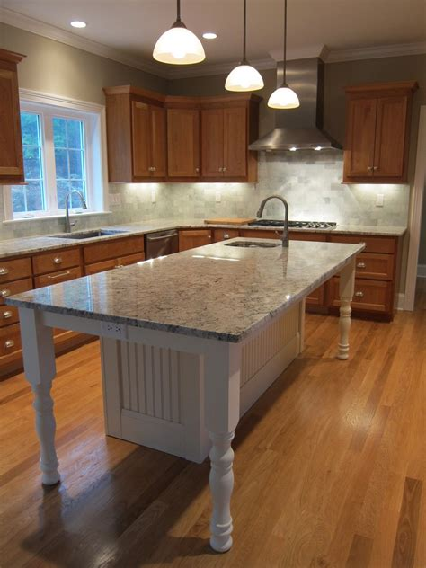 prep sinks for kitchen islands white kitchen island with granite countertop and prep sink
