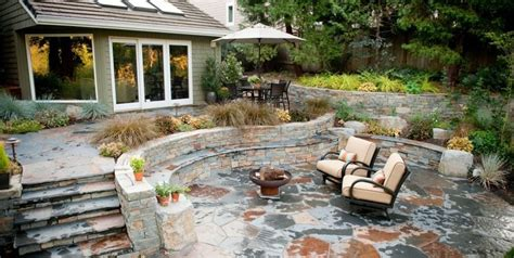 flagstone patio designs flagstone patio benefits cost ideas landscaping network