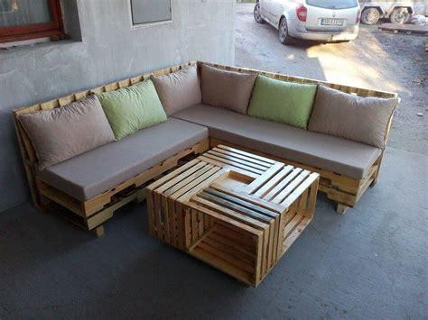 pallet sectional sofa wooden pallet l shape sofa set