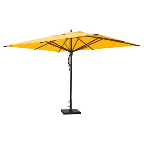 rectangular patio umbrella 25 best ideas about rectangular patio umbrella on