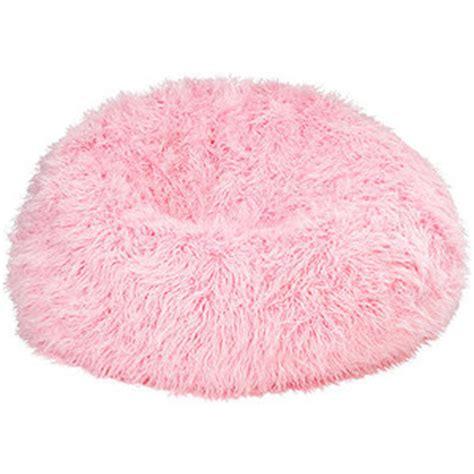 th?id=OIP.JtBMIeBsAIXkDv17KLF18QHaFn&rs=1&pcl=dddddd&o=5&pid=1 pink bean bag chairs for kids - Fuzzy Fur Hot Pink Bean Bag Chair   Polyvore