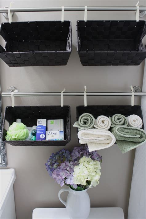 Bathroom Basket Ideas by 30 Diy Storage Ideas To Organize Your Bathroom Page 2