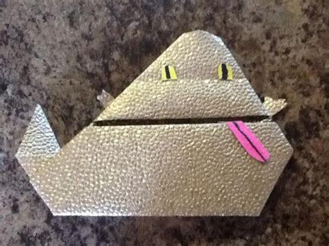 how to fold origami jabba the hutt my jabba the hutt origami yoda