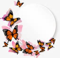 butterfly border box png and vector for free download