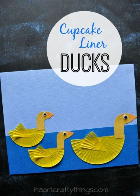 paper duck craft colored paper and to on